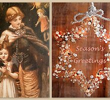 Victorian Season's Greetings by ©The Creative  Minds