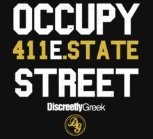 Discreetly Greek :: Occupy East State Street by integralapparel