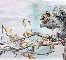 Having a Snack by Sally O'Dell