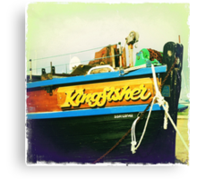 Kingfisher... Canvas Print