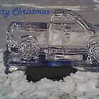 Ice Truck. Christmas Card by buster3