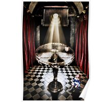 The Alice Series: A Glass Table Poster