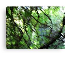 Emerald Garden Canvas Print