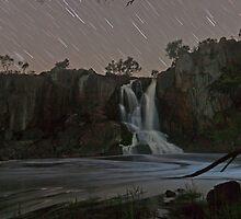 Nigretta Falls and Startrails by pablosvista2