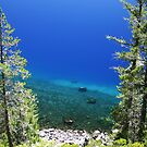 Shore at Crater Lake by dylangould