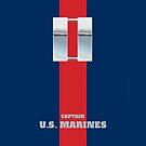 USMC O3 Capt Blood Stripe by Sinubis