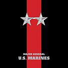USMC O8 MajGen Blood Stripe by Sinubis