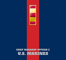 USMC W2 CWO2 Blood Stripe by Sinubis