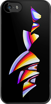 Psychedelic Sails - Sydney Opera House - iPhone Case by Bryan Freeman