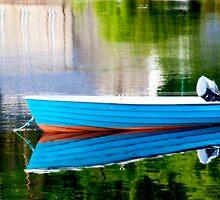 Little Blue Boat by Lynne Morris