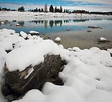 Walking On Ice by Rodel Joselito B.  Manabat