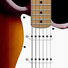 Sunburst Fender Stratocaster by Alisdair Binning