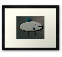 Keychain fish # 8 (SOLD) Framed Print