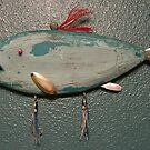 Key chain fish # 14 (SOLD) by Fred Weiler