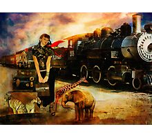 Her Traveling Menagerie Photographic Print