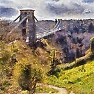 Clifton Suspension Brige, Bristol, UK by buttonpresser