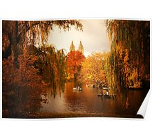 Autumn - Central Park - New York City Poster