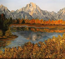OxBow Bend by Anna  Holbert