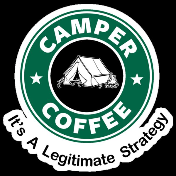 Camper Coffee by Royal Bros Art