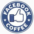 Facebook Coffee by Royal Bros Art