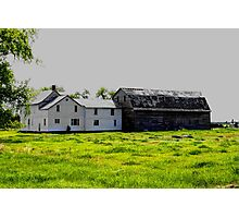 Old House/Barn Attachment Photographic Print