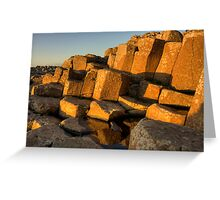 The Giants Causeway County Antrim Northern Ireland Greeting Card