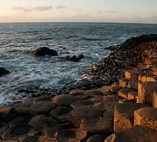 The Giants Causeway County Antrim Northern Ireland by Jon Lees