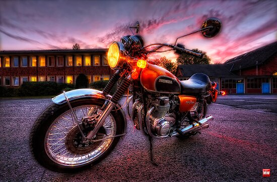 Honda CB 500 Four by MarkusWill