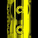 Cassette Tape Yellow by CaseBase