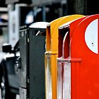 Letter boxes by Catherine White Photography