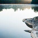 Dawn Lake by Skye Hohmann