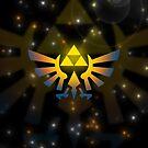 Legend of Zelda - Triforce by scarlet-neko