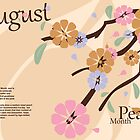 August - Peach Month by KRPace