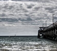 Springtime; Largs Beach by Cherie Vivar