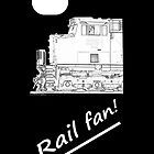 Rail Fan iPhone Case by JoeDavisPhoto