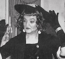 The artist as Bette Davis, circa 1964 by PaulStanley