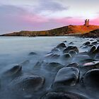 Lilburn Tower, Dunstanburgh Castle by johnfinney