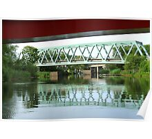 Green Bridge Poster