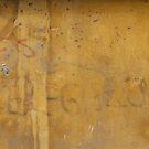 Graffiti on a painted wall by Marjolein Katsma
