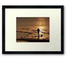 Stranger On The Shore Framed Print
