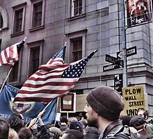 Occupy Wall Street - The March On Wall Street  by Jack McCabe