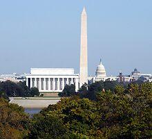 Washington Monuments by kelliejane