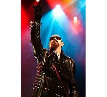 Rob Halford from Judas Priest 2011 Photographic Print