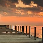 Sunrise over the pier by BradKphoto