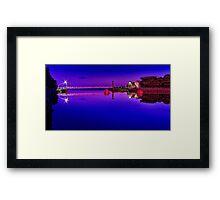 """Artwork On The Erskine"" Framed Print"