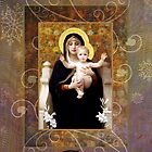 Winter Madonna card by Helen K. Passey
