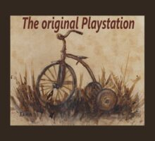 The Original Playstation T-shirt by Dianne  Ilka