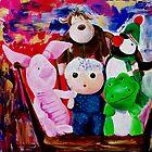 Peter Pan Strikes Again by Kasia B. Turajczyk