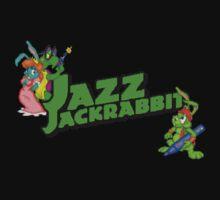 Jazz Jackrabbit Pixel Style- Retro DOS game fan shirt Kids Clothes