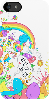Rainbow Sugar Splash by anjila